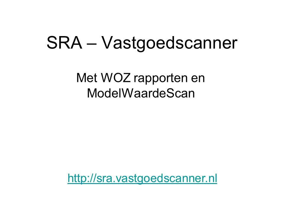 Met WOZ rapporten en ModelWaardeScan