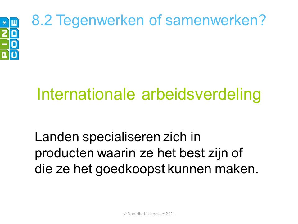 Internationale arbeidsverdeling