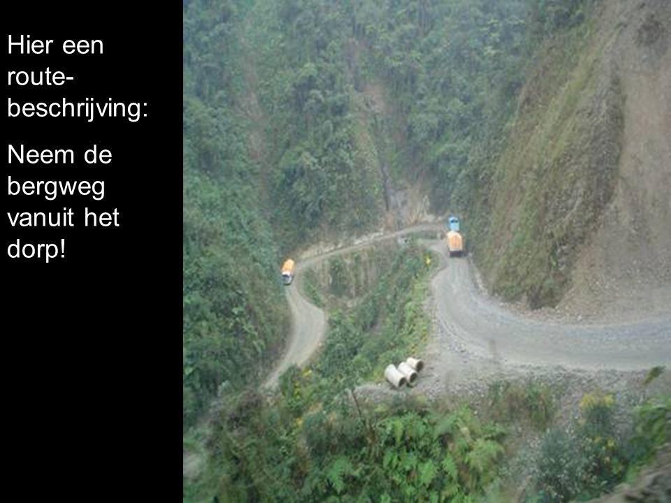 Hier een route-beschrijving: