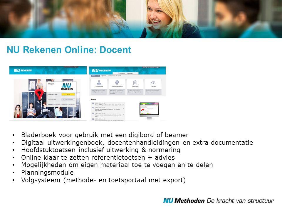 NU Rekenen Online: Docent