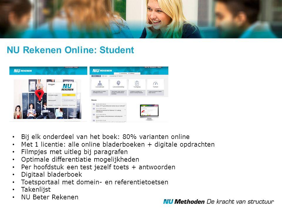 NU Rekenen Online: Student