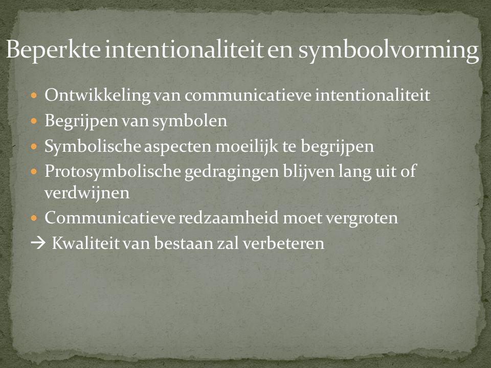Beperkte intentionaliteit en symboolvorming