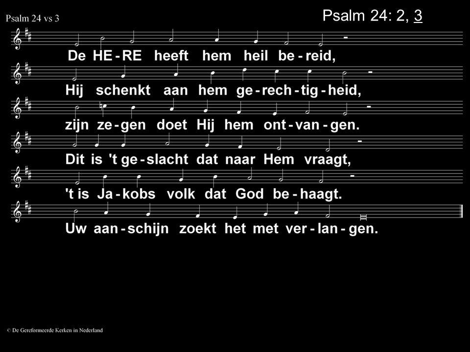Psalm 24: 2, 3