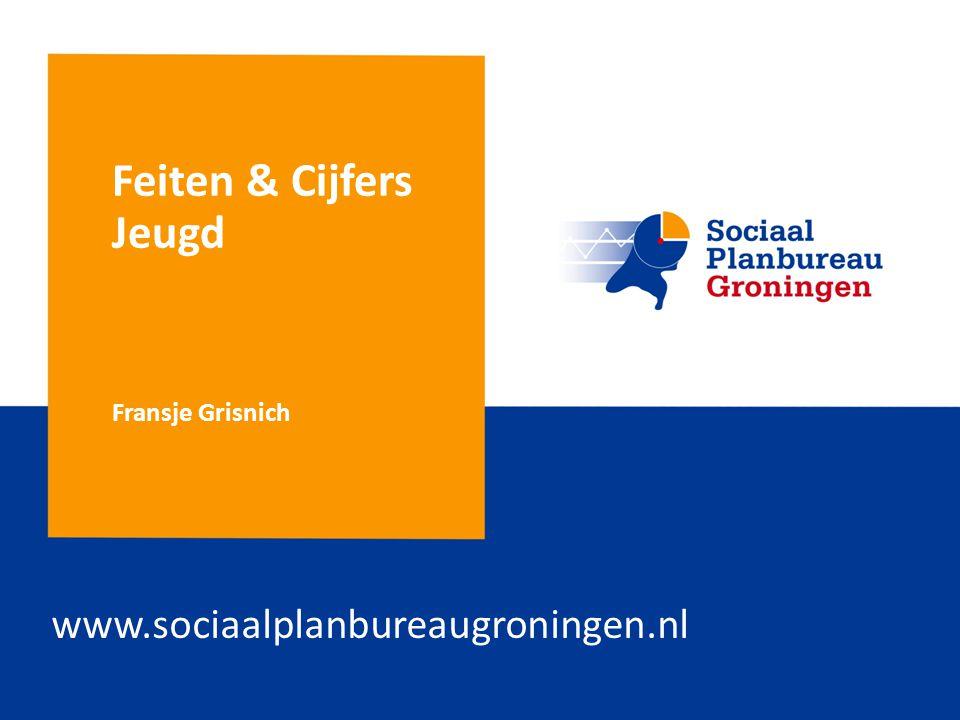 Feiten & Cijfers Jeugd www.sociaalplanbureaugroningen.nl