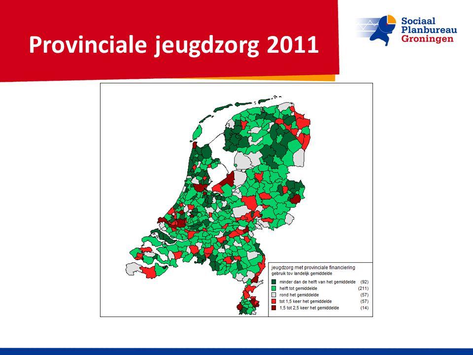 Provinciale jeugdzorg 2011