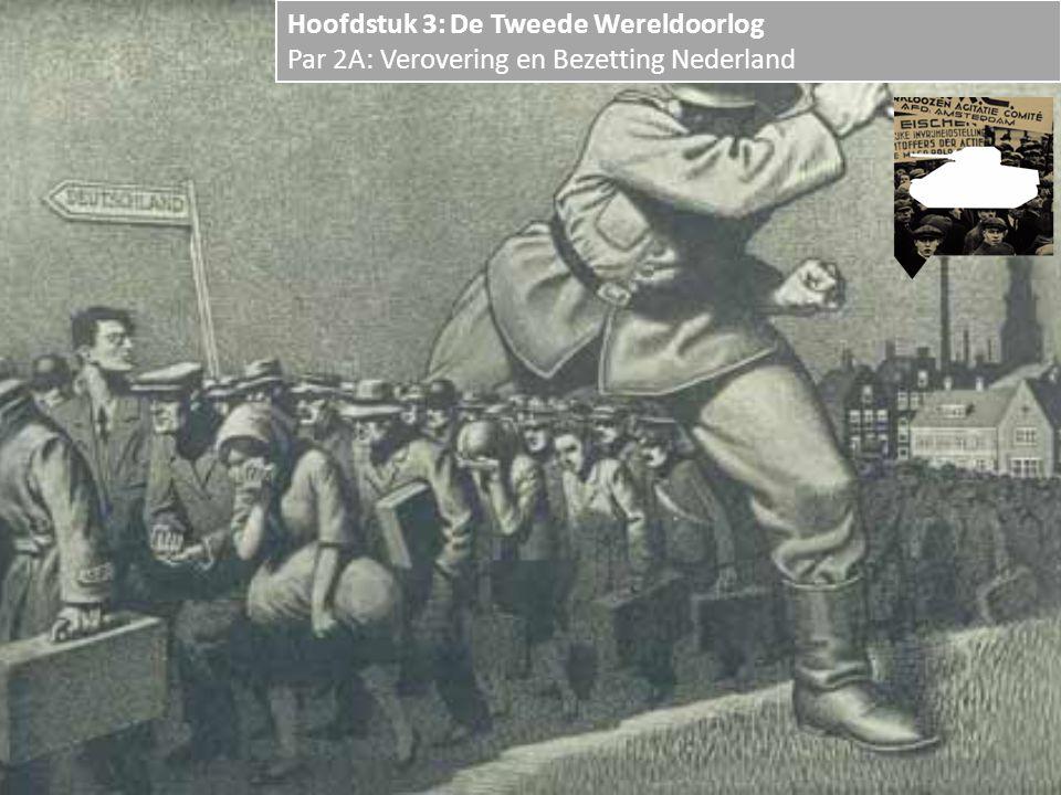 Hoofdstuk 3: De Tweede Wereldoorlog