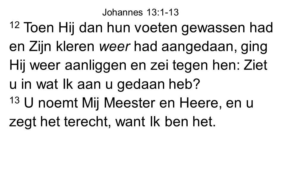 Johannes 13:1-13