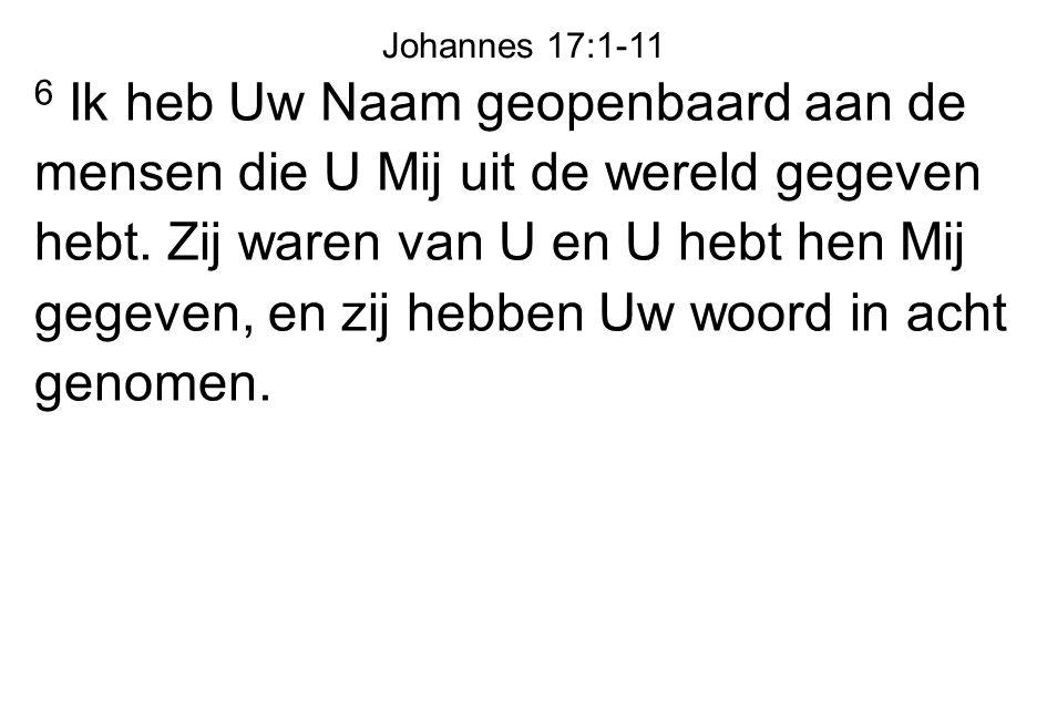 Johannes 17:1-11