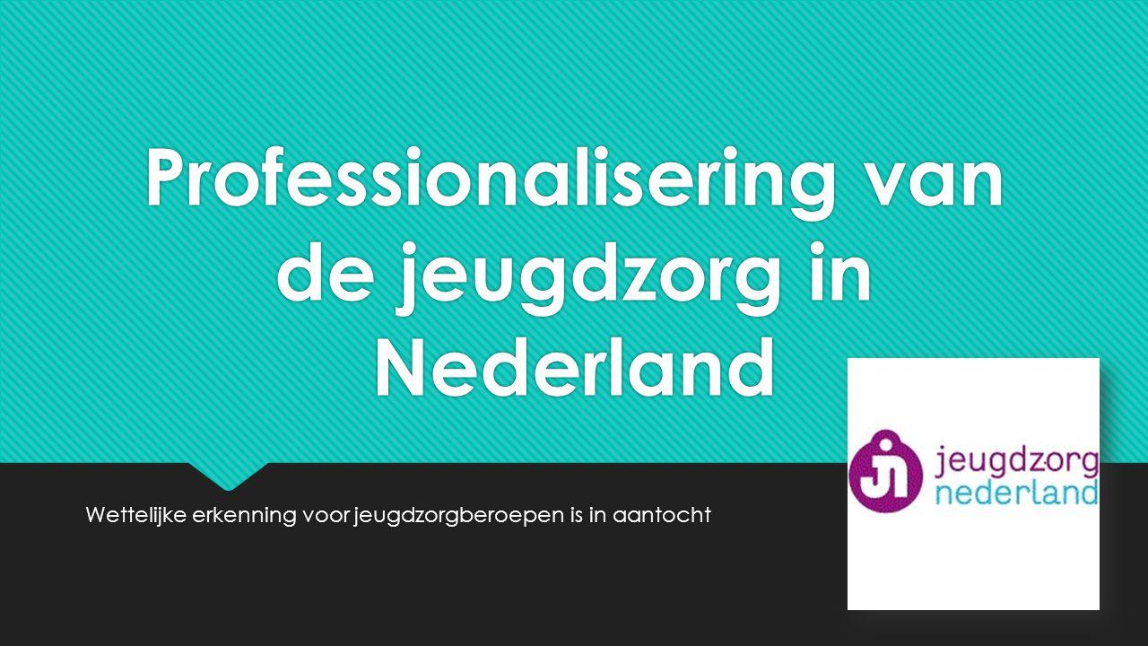 Professionalisering van de jeugdzorg in Nederland