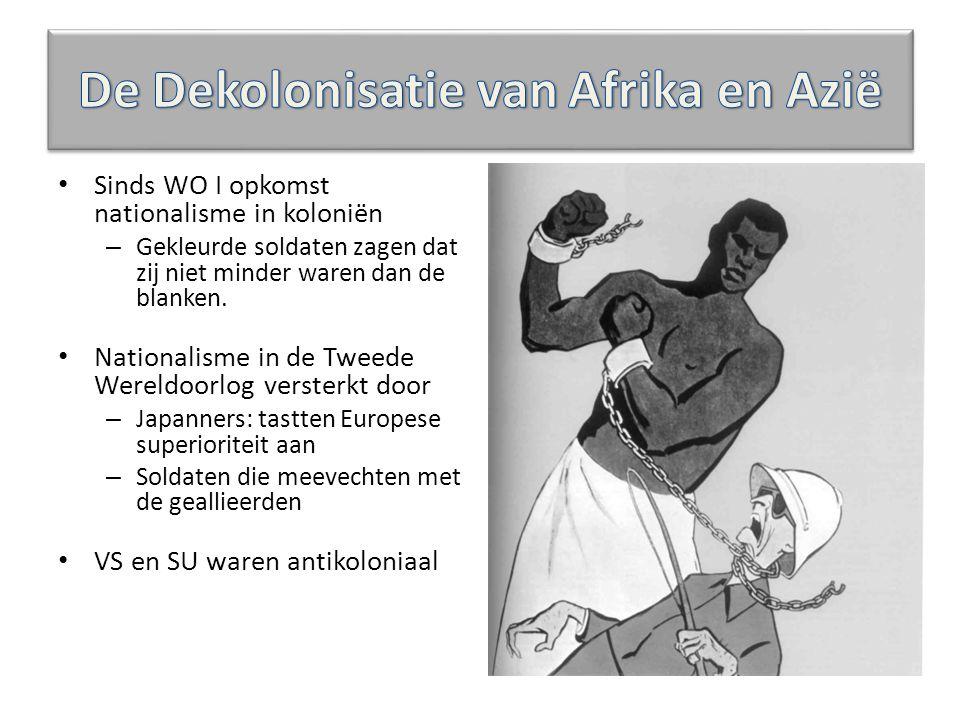 De Dekolonisatie van Afrika en Azië