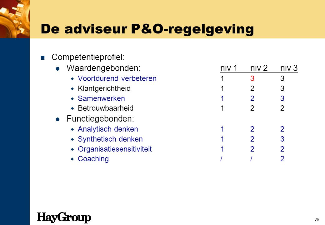 De adviseur P&O-regelgeving