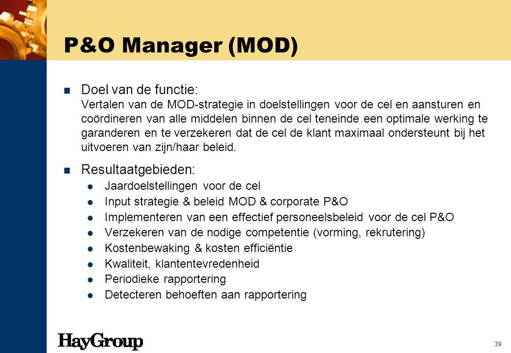 P&O Manager (MOD)