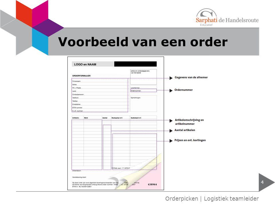 Orderpicken h1 orderpicken logistiek teamleider ppt download - Voorbeeld van een buitenzwembad ...