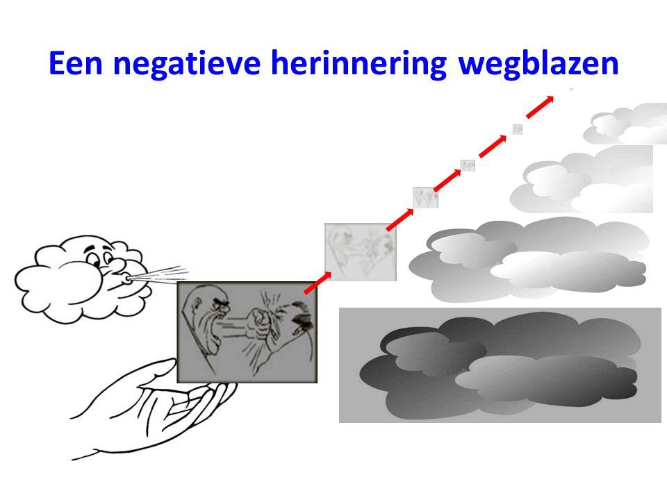 Een negatieve herinnering wegblazen