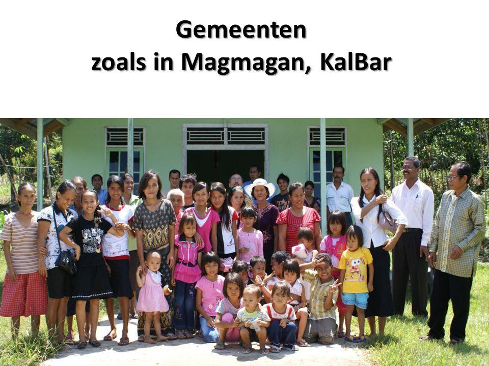 Gemeenten zoals in Magmagan, KalBar