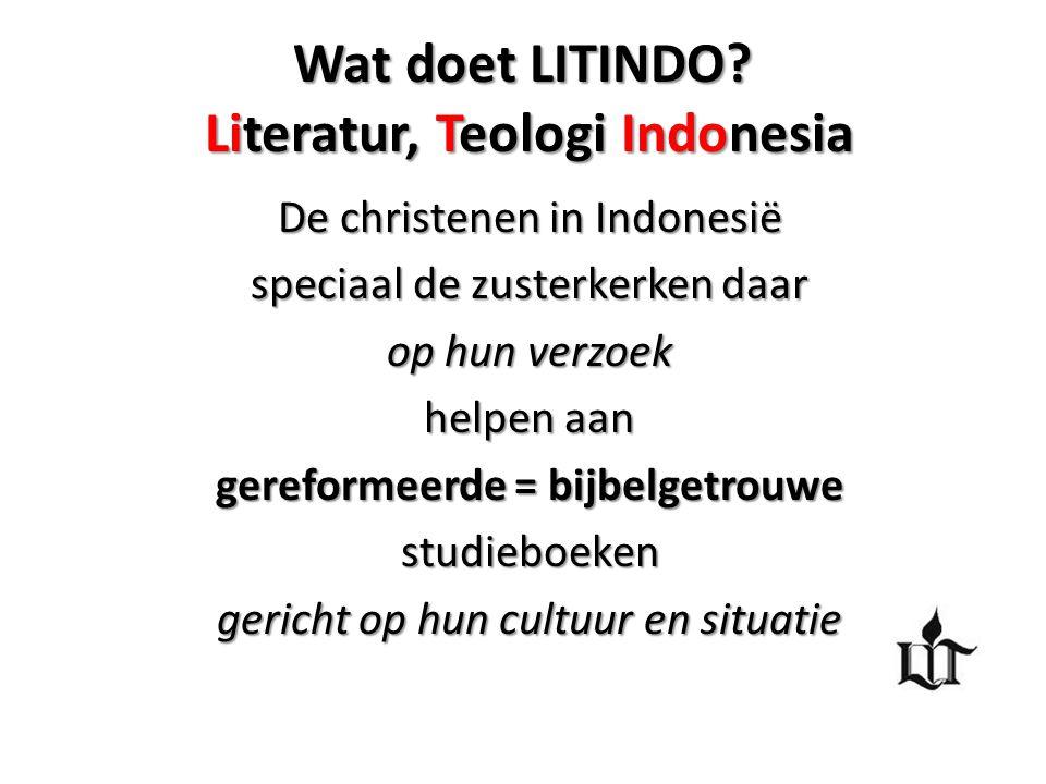 Wat doet LITINDO Literatur, Teologi Indonesia