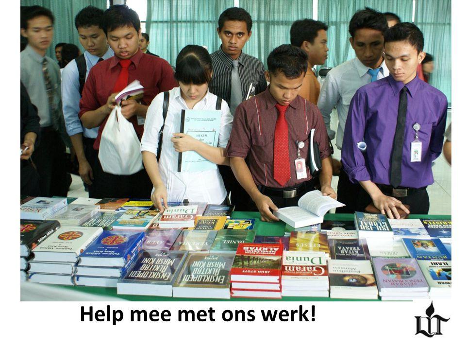 Help mee met ons werk!