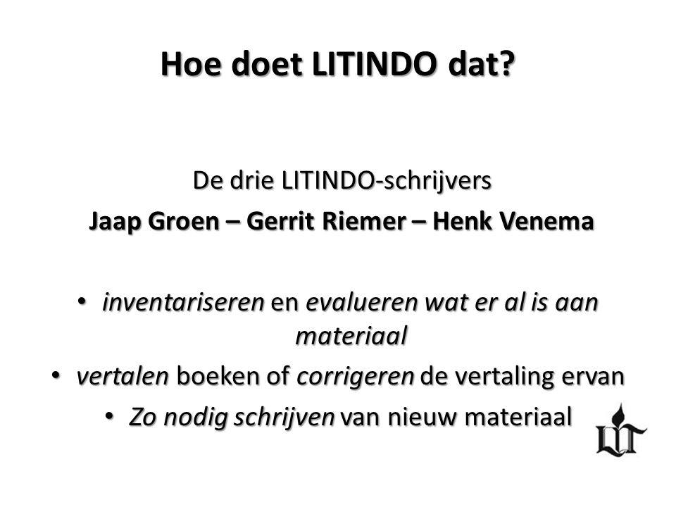 Jaap Groen – Gerrit Riemer – Henk Venema