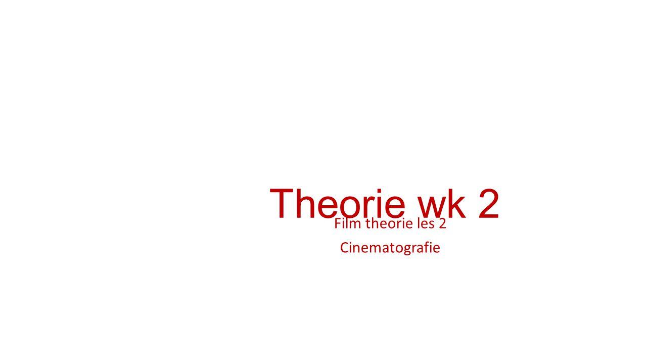 Film theorie les 2 Cinematografie