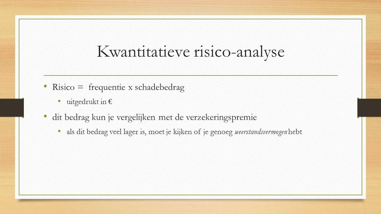 Kwantitatieve risico-analyse