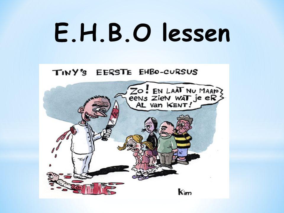 E.H.B.O lessen