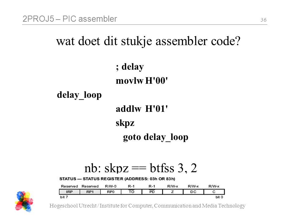 wat doet dit stukje assembler code