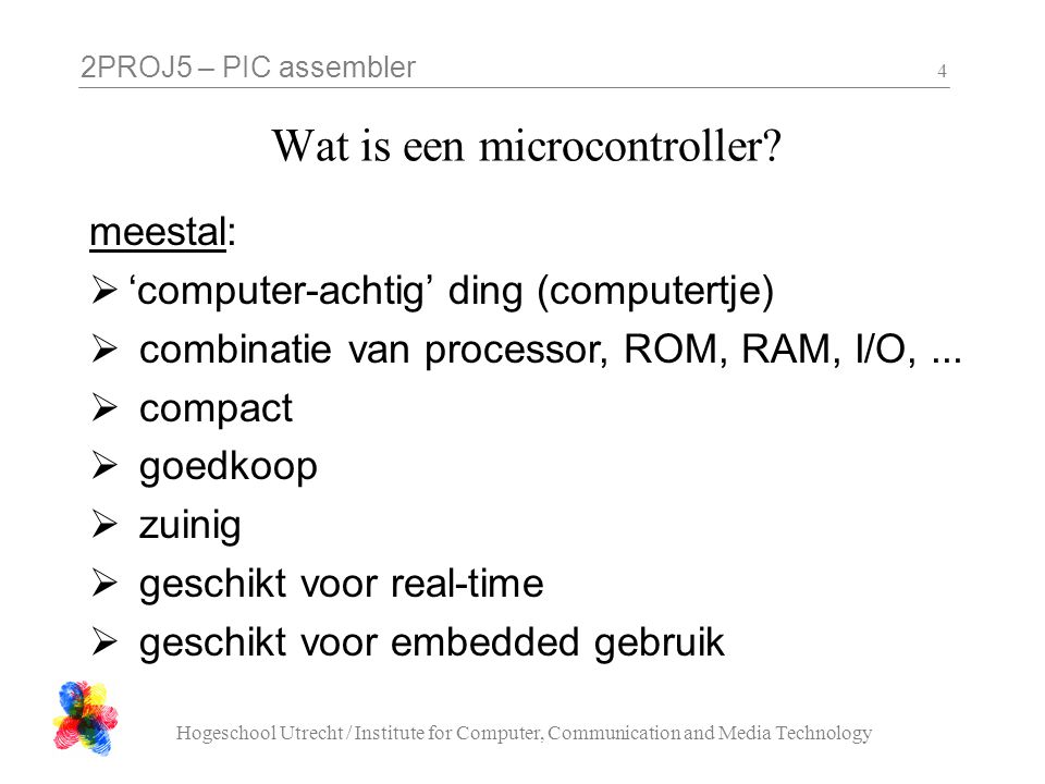 Wat is een microcontroller