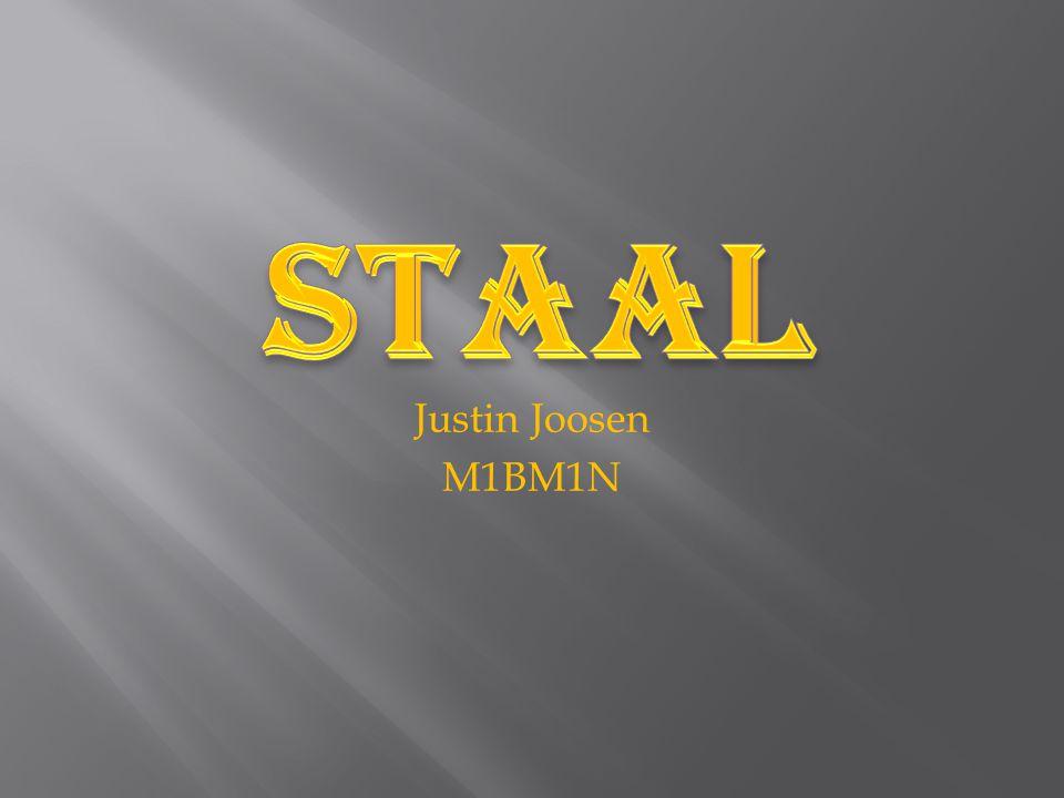 Staal Justin Joosen M1BM1N