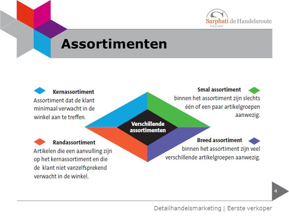 Assortimenten Detailhandelsmarketing | Eerste verkoper