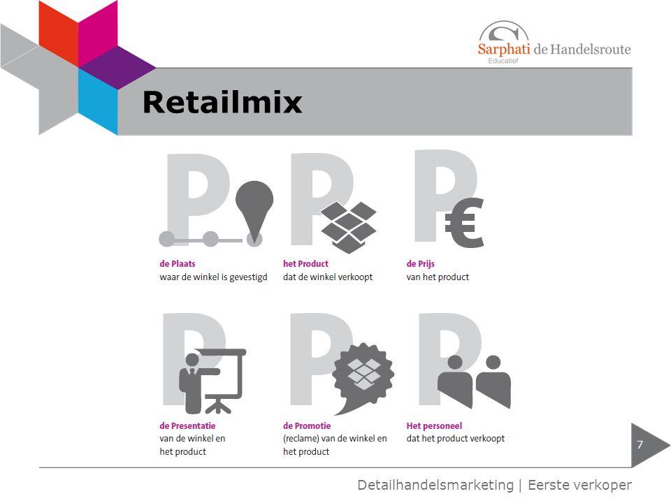 Retailmix Detailhandelsmarketing | Eerste verkoper