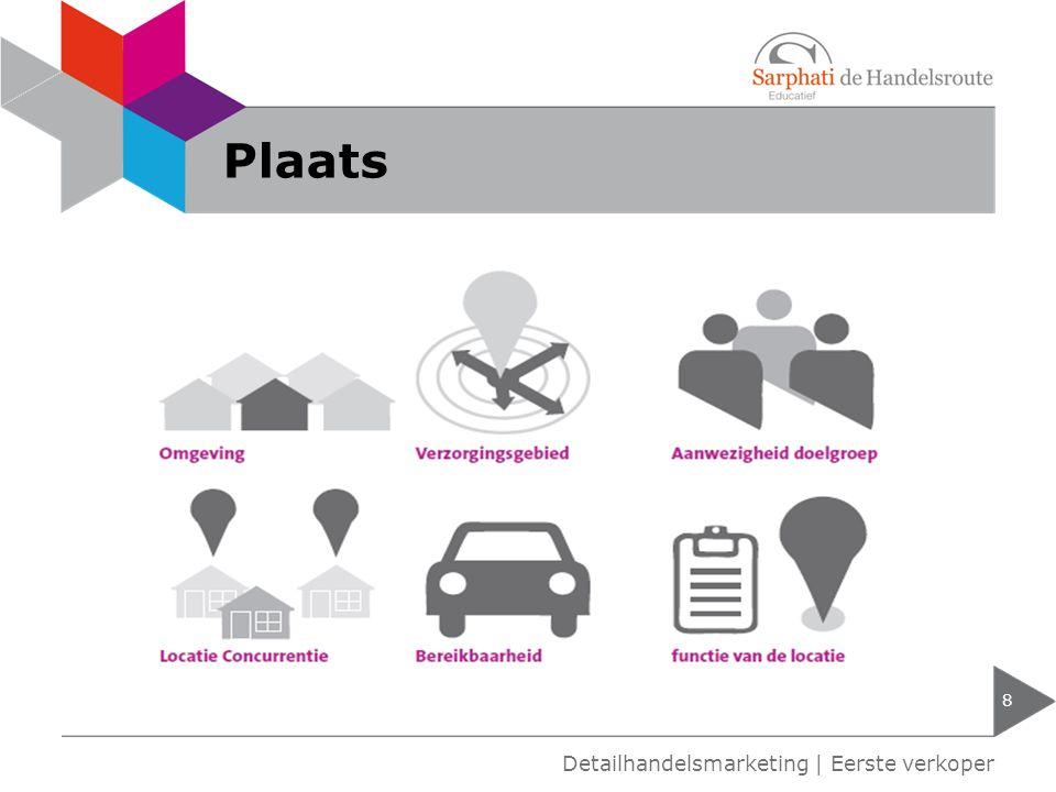 Plaats Detailhandelsmarketing | Eerste verkoper