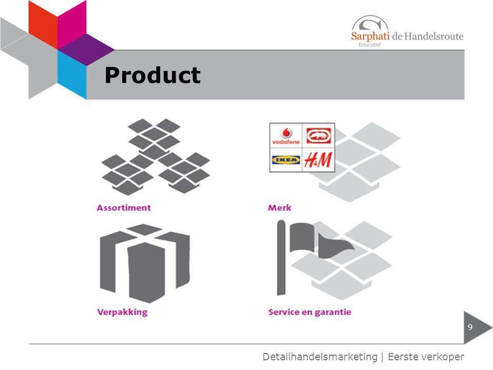 Product Detailhandelsmarketing | Eerste verkoper
