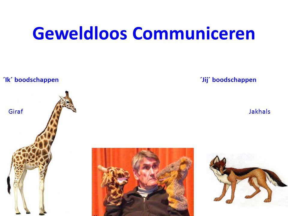 Geweldloos Communiceren