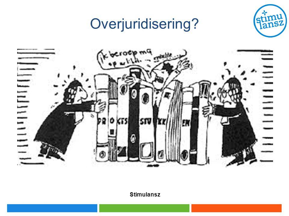 Overjuridisering Stimulansz