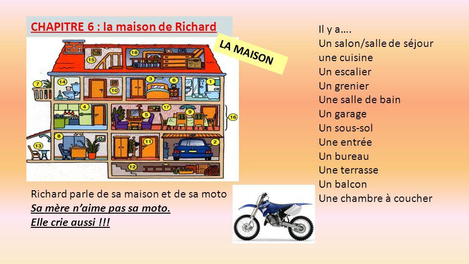 CHAPITRE 6 : la maison de Richard