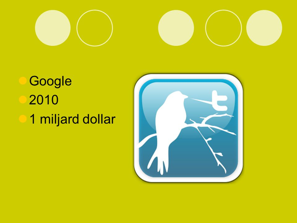 Google 2010 1 miljard dollar