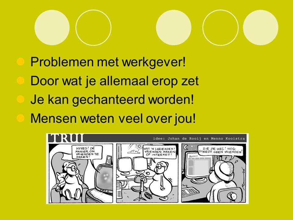 Problemen met werkgever!