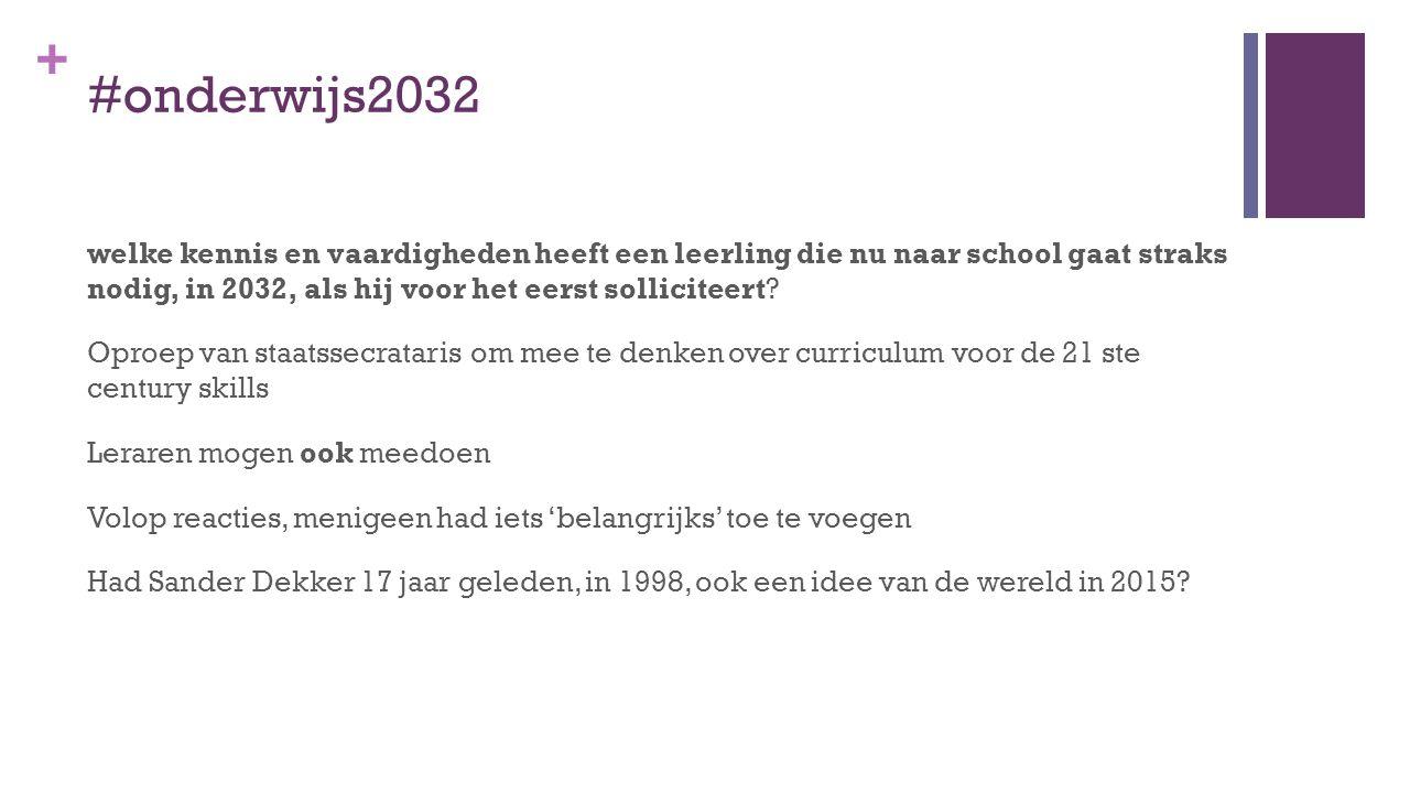 #onderwijs2032