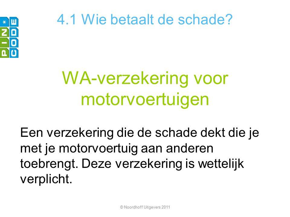 WA-verzekering voor motorvoertuigen