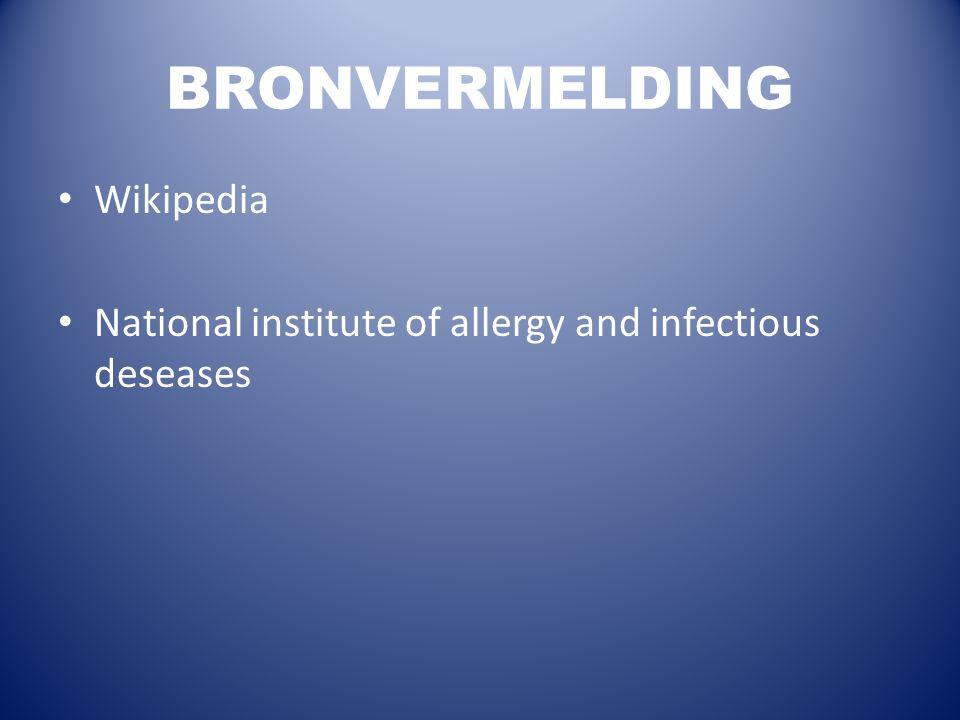 BRONVERMELDING Wikipedia