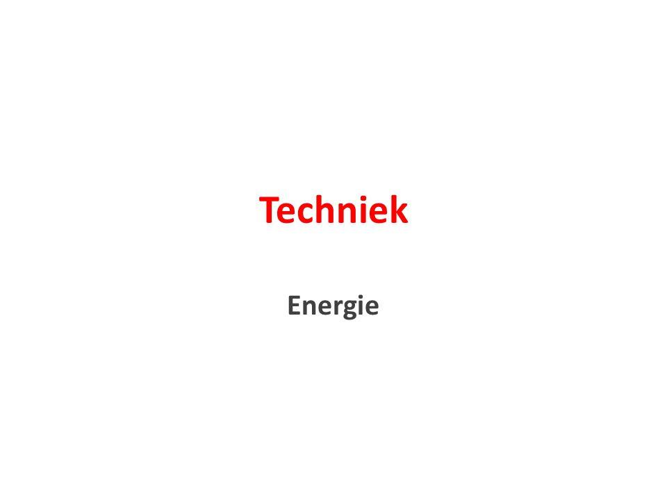 Techniek Energie