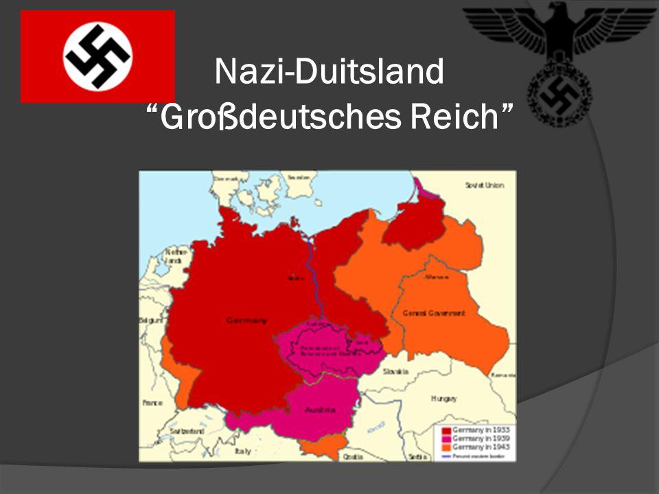 Nazi-Duitsland Großdeutsches Reich