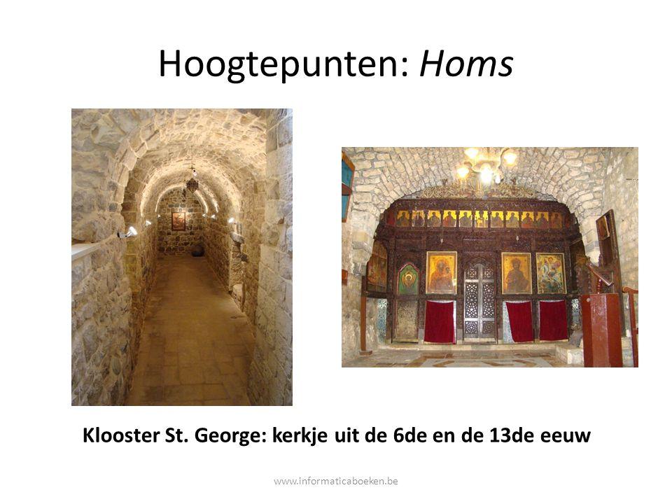 Klooster St. George: kerkje uit de 6de en de 13de eeuw