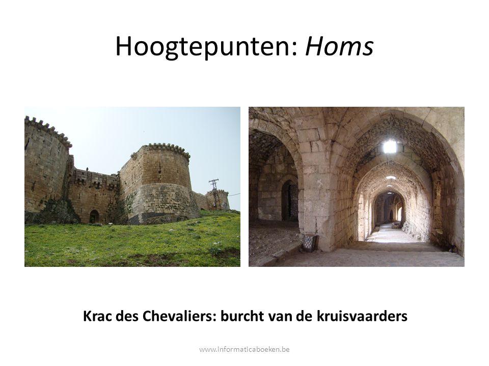Krac des Chevaliers: burcht van de kruisvaarders