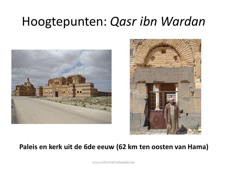 Hoogtepunten: Qasr ibn Wardan