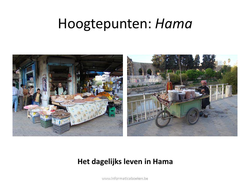 Het dagelijks leven in Hama