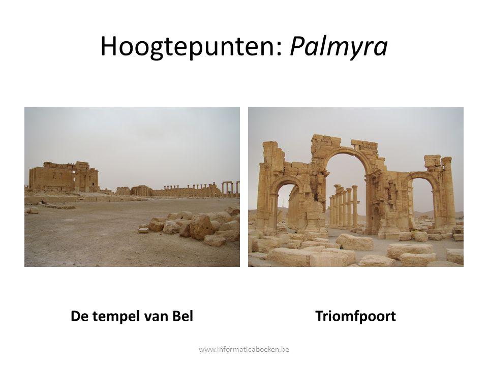 Hoogtepunten: Palmyra