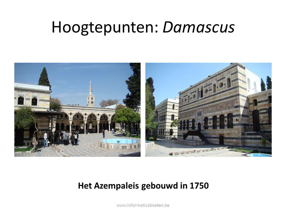Hoogtepunten: Damascus