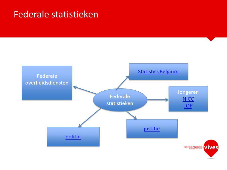 Federale statistieken