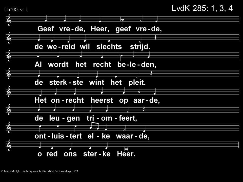 LvdK 285: 1, 3, 4
